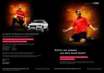 Schiri, wir wissen wo dein Audi steht!