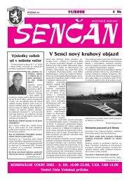 V Senci nový kruhový objazd - Mesto Senec
