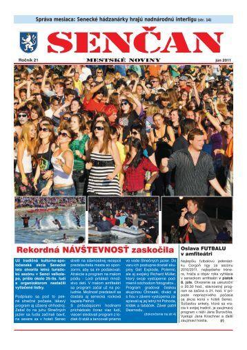 SENČAN jún 2011 - Mesto Senec