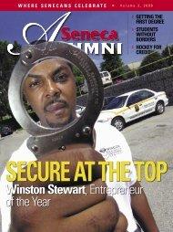 Winston Stewart, Entrepreneur of the Year - Seneca College