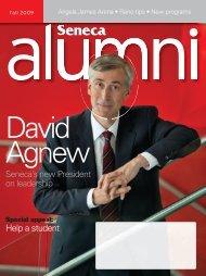 alumni mag FALL.indd - Seneca College