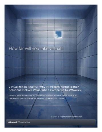 Virtualization Reality - Downloads - Microsoft