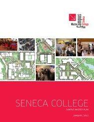 View final Seneca College Master Plan