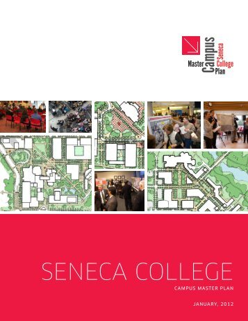 View final Seneca College Master Plan