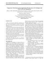 Temperature Monitoring System Using Passive ... - SenGenuity