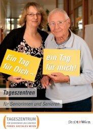 Tageszentren für Seniorinnen und Senioren - Fonds Soziales Wien