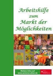Arbeitshilfe Markt der Möglichkeiten - Senioren Ahlen