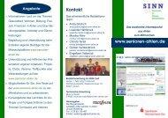 Infos: Handzettel - Senioren Ahlen