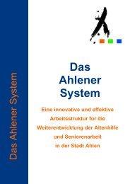 Das Ahlener System - Senioren Ahlen