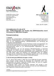 Infos: Konzeption - Senioren Ahlen