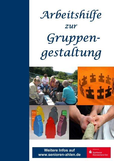 Arbeitshilfe Gruppengestaltung - Senioren Ahlen
