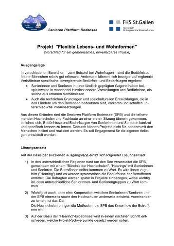 Projekt - Senioren Plattform Bodensee