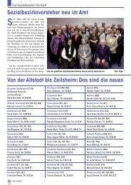 Sozialbezirksvorsteher neu im Amt - Senioren Zeitschrift Frankfurt