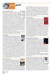 Für Sie gelesen - Senioren Zeitschrift Frankfurt