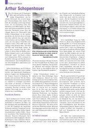 Arthur Schopenhauer - Senioren Zeitschrift Frankfurt