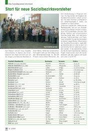 Start für neue Sozialbezirksvorsteher - Senioren Zeitschrift Frankfurt
