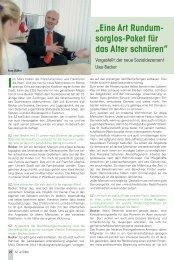Interview mit Sozialdezernent Uwe Becker - Senioren Zeitschrift ...