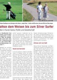 Das Altersbild in der Gesellschaft - Senioren Zeitschrift Frankfurt