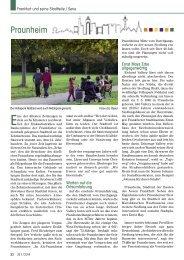 Praunheim - Senioren Zeitschrift Frankfurt