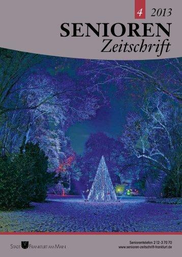 Sicherheit ganz n - Senioren Zeitschrift Frankfurt