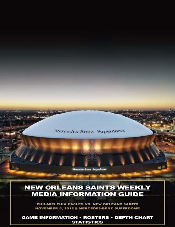 new orleans saints weekly media information guide - NFL.com