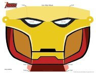 Download Iron Man Mask Template - Spoonful