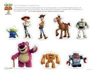 Toy Story Magnetic Character Toys - Spoonful