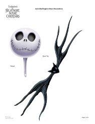Download Jack Skellington Door Decoration Template - Spoonful