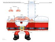 Santa Santa Claus Paper Craft: Santa and His Ears Fold ... - Spoonful