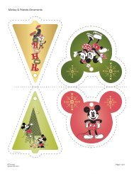Download Mickey & Friends Christmas Ornaments ... - Spoonful