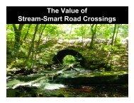Stream Smart Road Crossings Workshop ... - Maine Audubon