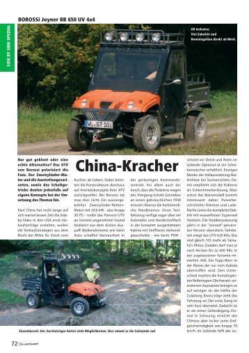China-Kracher - Borossi