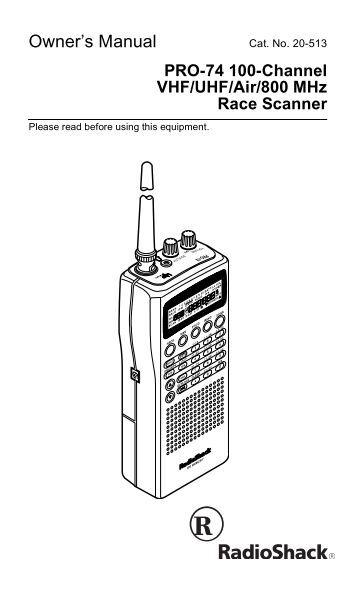 pro 95 dual trunk tracking handheld scanner radio shack. Black Bedroom Furniture Sets. Home Design Ideas