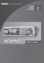 Uniden BCD996T - Scancat