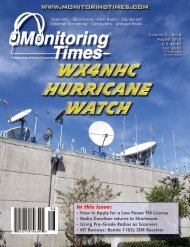 RIGHT-click here - Monitoring Times