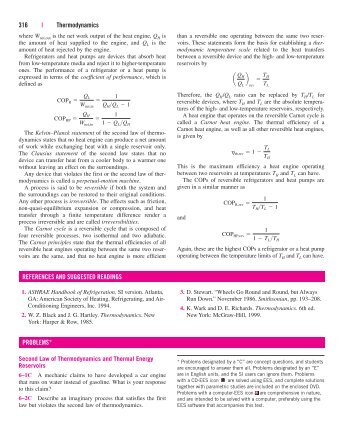 amme thermofluids thermodynamics assignment  316 thermodynamics problems references and fkm