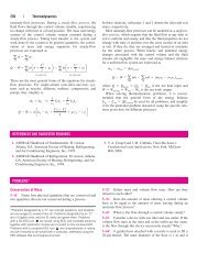 256 | Thermodynamics REFERENCES AND SUGGESTED ... - FKM