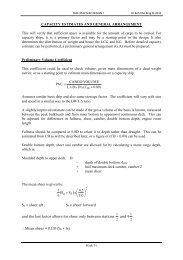CAPACITY ESTIMATES AND GENERAL ARRANGEMENT ... - FKM