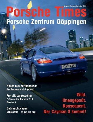 Ausgabe Nov/Dez 2005 - Porsche