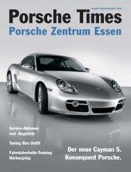 Ausgabe August/September 2005 [574 KB] - Porsche Zentrum Essen