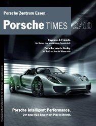 PorscheTimes Vorlageseiten - Porsche Zentrum Essen