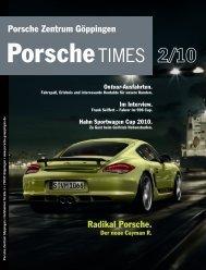 Radikal Porsche. Porsche Zentrum Göppingen