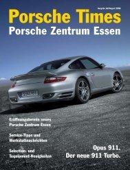 Ausgabe Juli/August 2006 [2016 KB] - Porsche Zentrum Essen