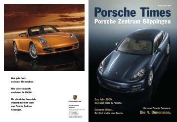 Ausgabe Jan 2009 - Porsche