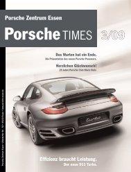 Ausgabe 3/09 - Porsche Zentrum Essen