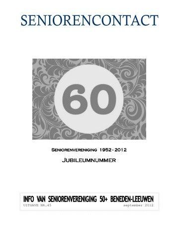 Jubileumnr. - Senioren 50+