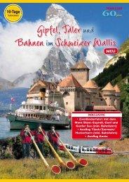 Gipfel, Tälerund Bahnenim Schweizer Wallis - SKAN-TOURS ...