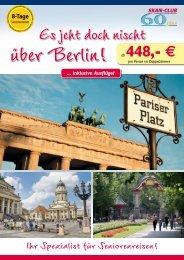 Es jeht doch nischt - SKAN-TOURS Touristik International GmbH