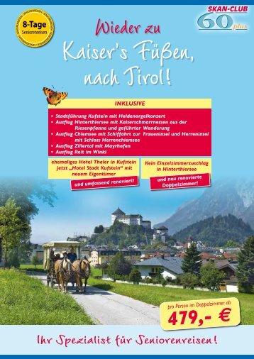 Wieder zu - SKAN-TOURS Touristik International GmbH
