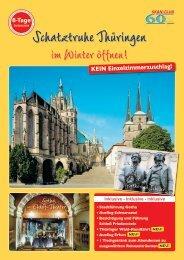 Schatztruhe Thüringen - Seniorenreisen
